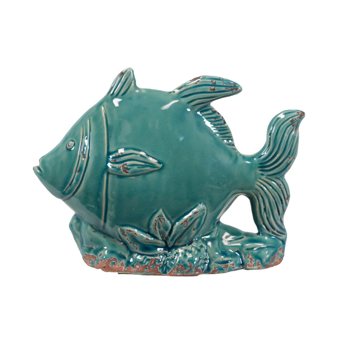 Decorative Blue Ceramic Fish Free Shipping On Orders