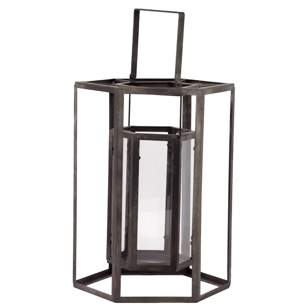 Urban Trends Collection Metal Lantern