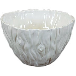 White Decorative Ceramic Bowl