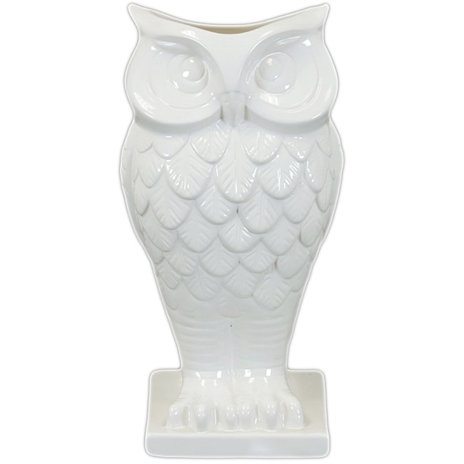 Ceramic Owl Vase Free Shipping On Orders Over 45