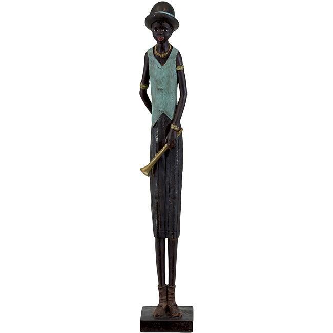 Resin Musician Figurine
