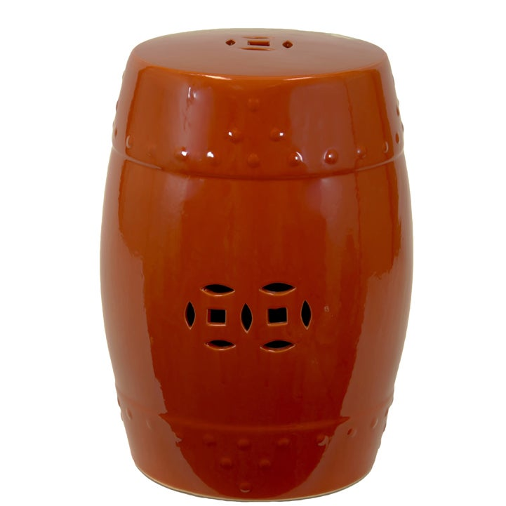 Ceramic Garden Stool Free Shipping Today Overstock Com