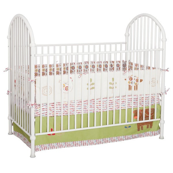 Delta White Metal Crib Free Shipping Today Overstock