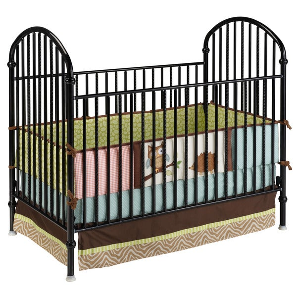 Delta Black Metal Crib