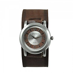 Nemesis Men's Retro Leather Band Watch