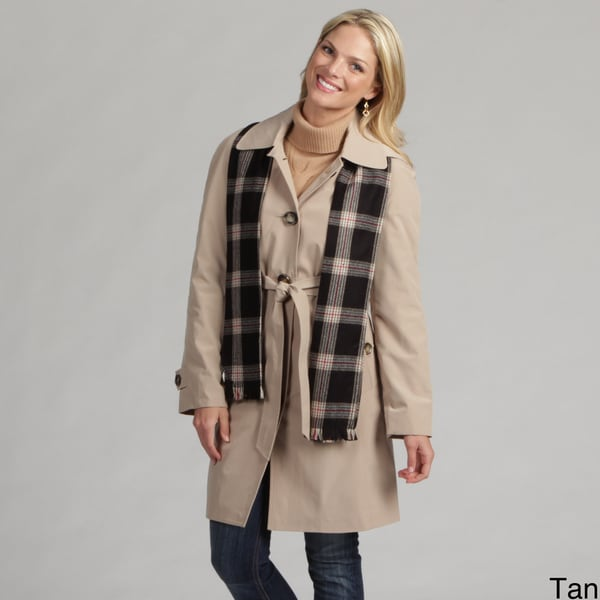 London Fog Women's Belted Raincoat FINAL SALE
