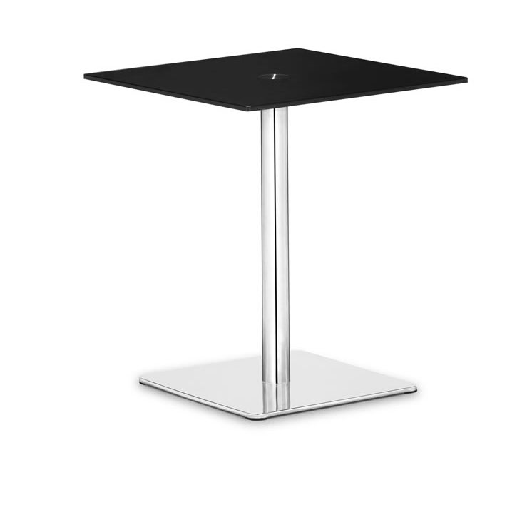Dimensional Black Pub Table