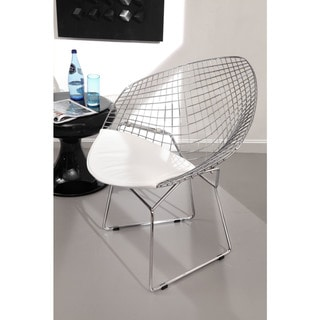 Net White Steel Dining Chair (Set of 2) - 26.5L x 32.5W x 33H