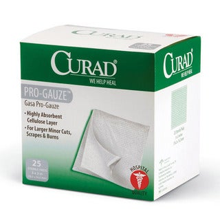Curad Non-woven Pro-Gauze 3-inch Pads (Case of 600)