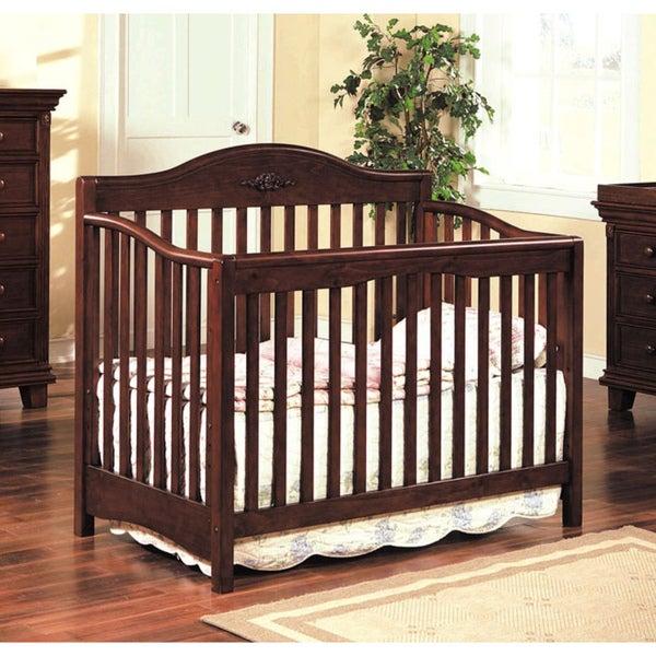 Heartland Cherry Finish Baby Crib Free Shipping Today Overstock Com 14505965