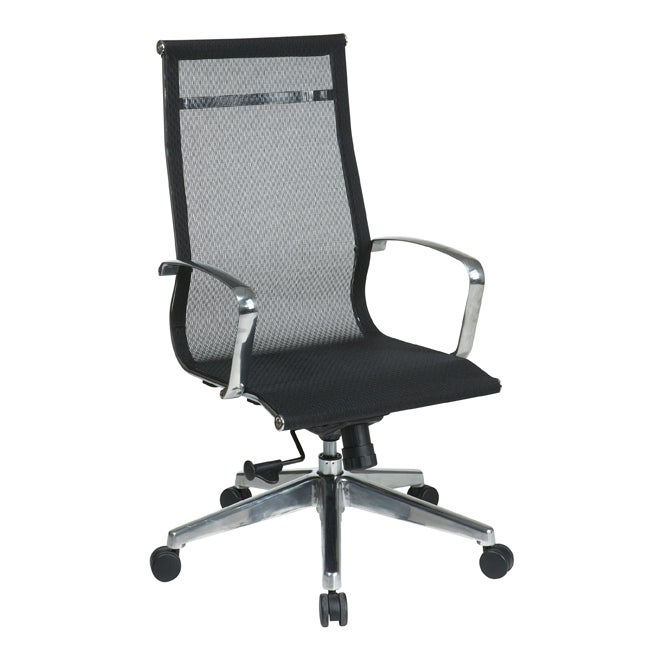 Office Star Executive High-Back Screen Back Chair