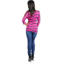 Stanzino Women's Striped Long Sleeve Top