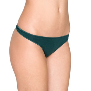 American Apparel Women's Cotton Spandex Jersey Invisi-Thong (7-Pack)