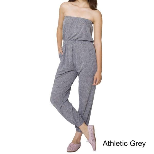 American Apparel Women's Tri-Blend Pocket Jumpsuit