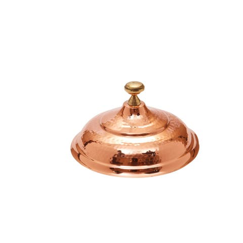 Old Dutch Round Decor Copper over S/S Chafing Dish