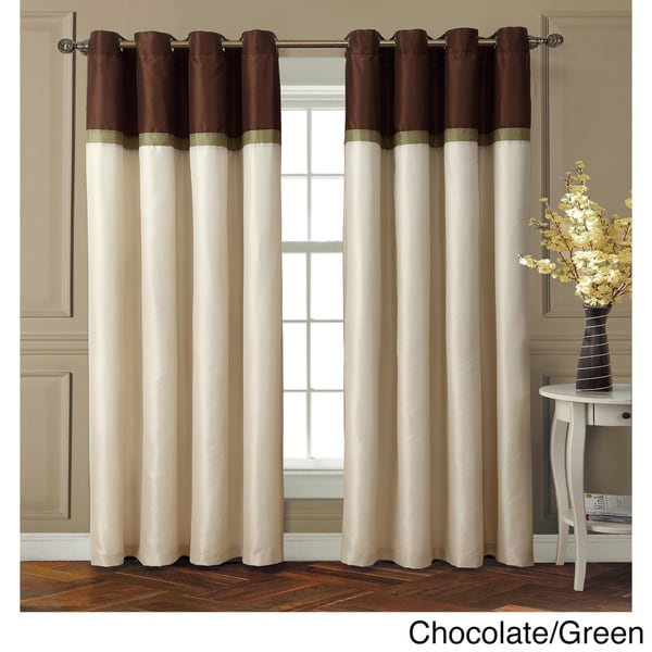VCNY Westin Interlined Room Darkening Grommet 84-inch Curtain Panel