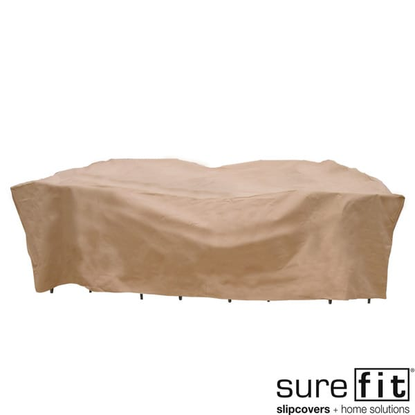 Sure Fit Chat Set Deep Seating Patio Cover