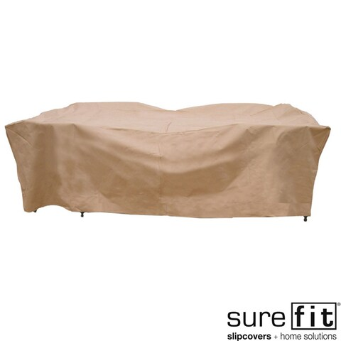 Sure Fit Deluxe Rectangle Table/Chair Set Cover