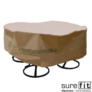 Sure Fit Original Round Table/ Chair Set Cover