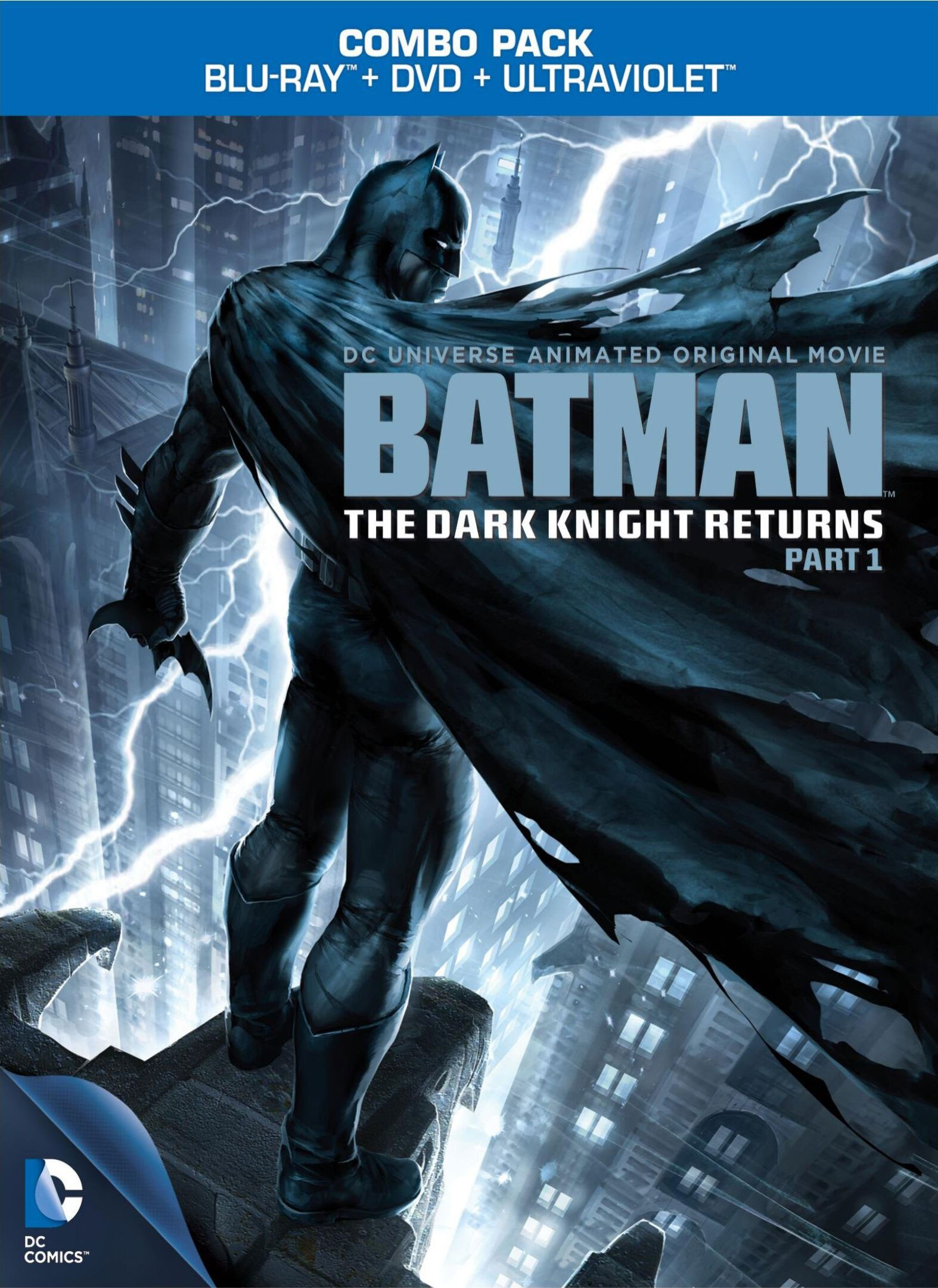Batman: The Dark Knight Returns Part 1 (Blu-ray/DVD)