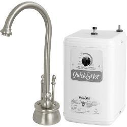 Satin Nickel Instant Hot/ Cold Water Dispenser
