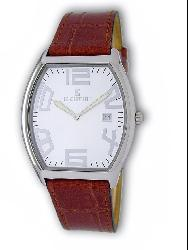 Le Chateau Men's Red Leather Band Watch