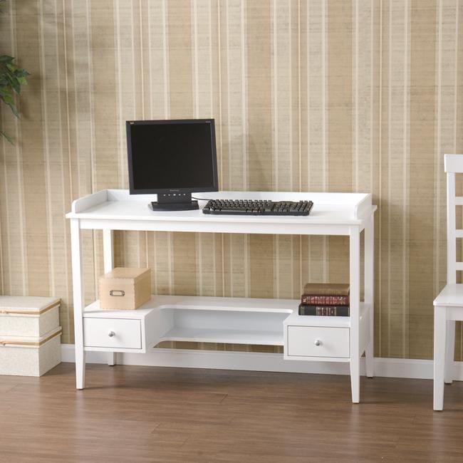 Oakcrest White Desk