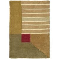 Safavieh Handmade Rodeo Drive Modern Abstract Multicolored Wool Rug - 2' x 3'
