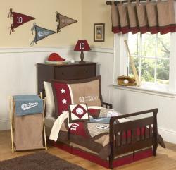 Sweet JoJo Designs All Star Sports 5-piece Toddler Boy's Bedding Set