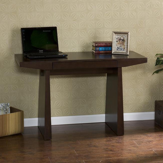 Mito Espresso Wood Desk Free Shipping Today Overstock