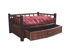 Merry Products Royalty Bamboo Pet Bed - Thumbnail 1