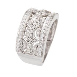 Unending Love Sterling Silver 1/4ct TDW Diamond Fashion Ring (I-J, I2-I3) - Thumbnail 1