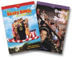 The Brady Bunch in the White House/Growing Up Brady 2PK (DVD)