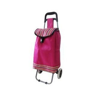 ATHome Lightweight Trolley Bag (Option: Pink)