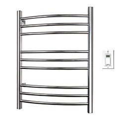 Riviera Hard-Wire Polished Stainless Towel Warmer