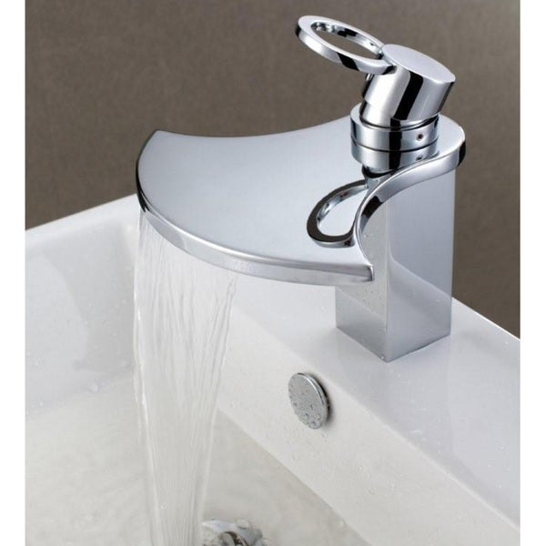 Sumerain Waterfall Bathroom Sink Faucet