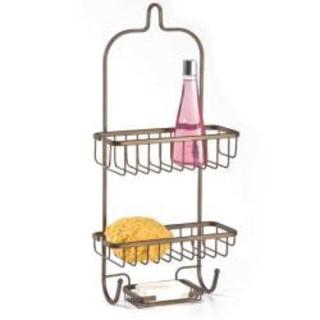 ATHome Steel Shower Caddy with Soap Dish (2 options available)