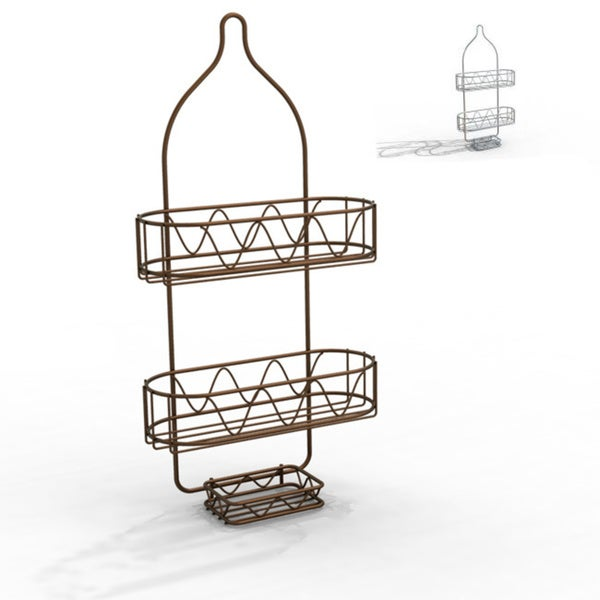 Shop ATHome Shower Caddy with Soap Dish - Free Shipping On Orders ...