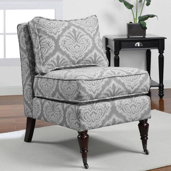 Cassidy Grey Armless Chair