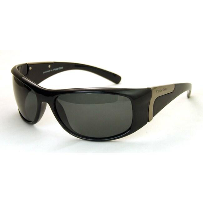 Polar One Men's 'P1-3032 C1' Sport Sunglasses