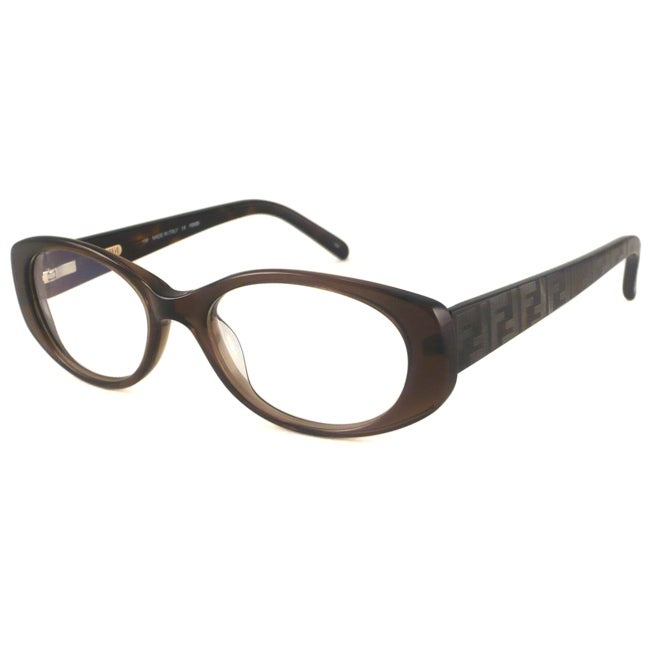 Fendi Readers Women's F907 Brown Oval Reading Glasses