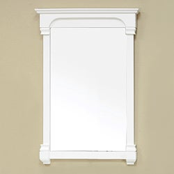 Bellaterra Home Cream White 24-inch Mirror