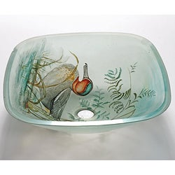 Duck Glass Sink Bowl