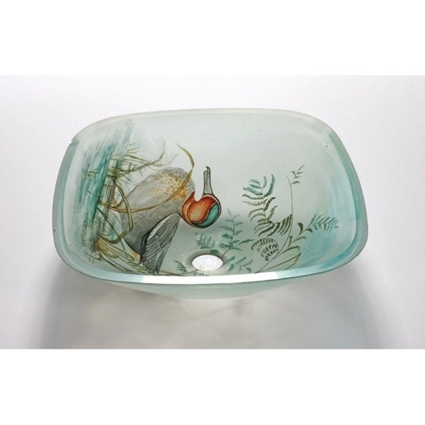 Duck Glass Sink Bowl