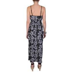 Journee Collection Juniors Smocked Waist V-Neckline Spaghetti Strap Maxi Dress