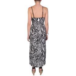 Journee Collection Juniors Smocked Waist Spaghetti Strap Maxi Dress - Thumbnail 1