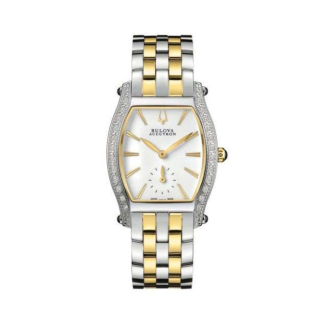 Accutron Women's Saleye Two-tone Stainless Steel Watch