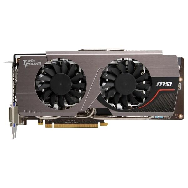 MSI N680GTX Twin Frozr 4GD5/OC GeForce GTX 680 Graphic Card - 1.06 GH
