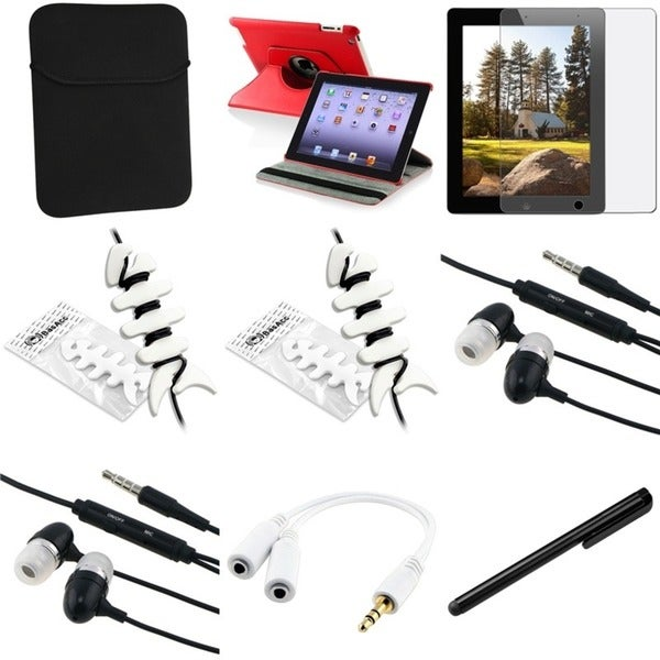 BasAcc Case/ Sleeve/ Screen Protector/ Headset/ Splitter for Apple® iPad 3/ 4