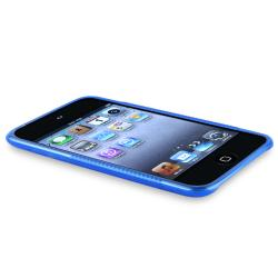 INSTEN TPU iPod Case Cover/ Anti-glare Screen Protector for Apple iPod Touch Generation 3